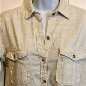 Abercrombie & Fitch women's LS button down size XS